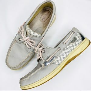 Sperry Top Sider Songfish Boat Shoe Houndstooth